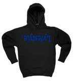 Royal Blue w/ Black Lyfestyle Hoodies