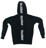 Black & White Lyfestyle Tape Hoody