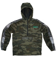 Camo Lyfestyle Tape Windbreaker Jacket