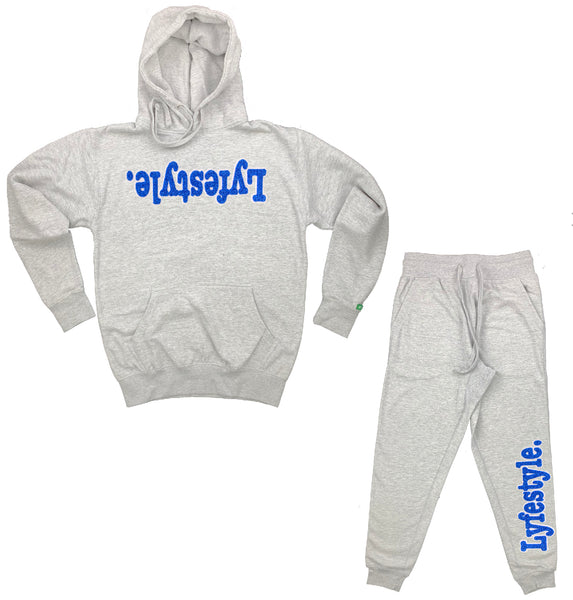 Royal Blue w/ White Lyfestyle Sweatsuits