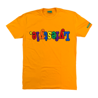 Athletic Gold Multicolor Lyfestyle Tee