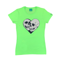 Women' s Heart and Skull Tees