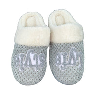 Grey Lyfestyle Slippers