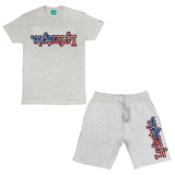 Stars & Stripes Lyfestyle Short Sets