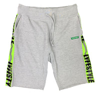 "Neon Green Lyfestyle ""Construction Zone"" Shorts"