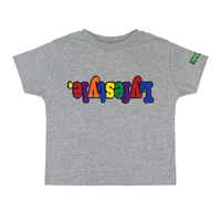 Toddlers Grey Multi Lyfestyle Tee