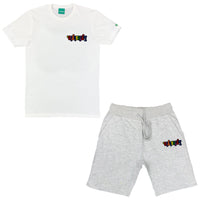 Mini Multicolor Lyfestyle Short Set