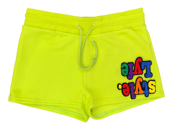 Womens Multicolor Lyfestyle Shorts