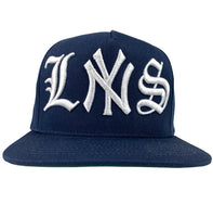 LSNY Navy Blue Snapback Hat