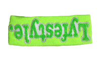 Lime Green w/ White Headbands