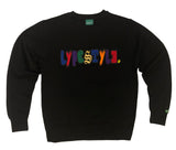 """Mixed-Up"" Multicolor Lyfestyle Sweatshirts"
