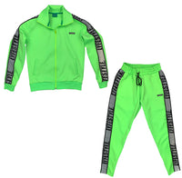 Neon Green 3M Lyfestyle Tracksuit
