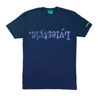 Blue Metallic Lyfestyle Tees