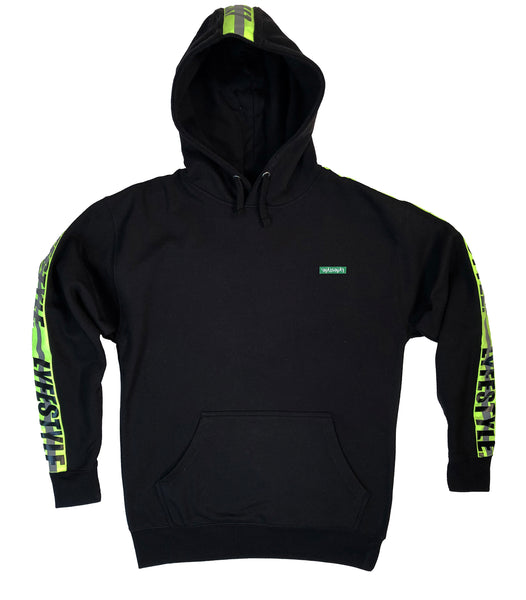 "Neon Green ""Construction Zone"" Hoodies"