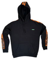 Neon Orange Construction Zone Hoody