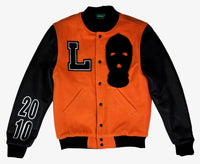 """Ski Mask Way"" Lyfestyle Varsity Jacket"