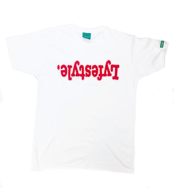 Red w/ White Lyfestyle Tees
