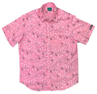 Pink Paisley Button-Up Shirt