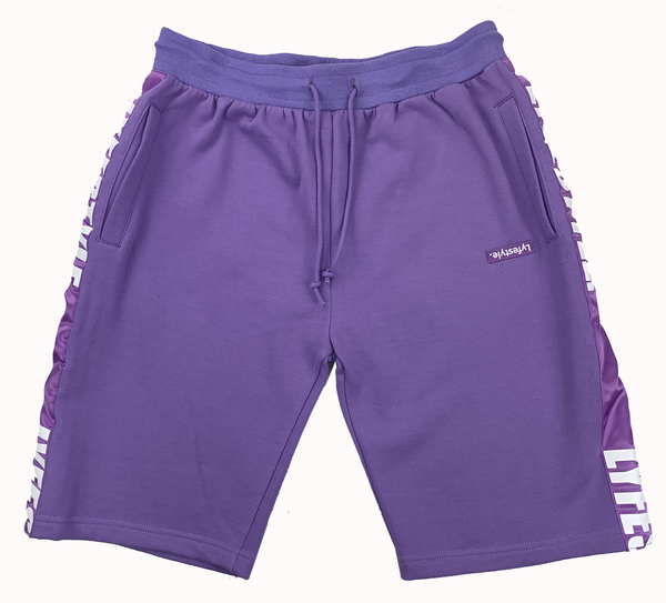 Purple Pastel Lyfestyle Tape Short