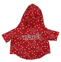 Red Bandana Lyfestyle Dog Jacket