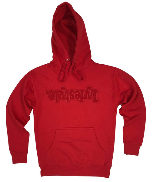 Red on Red Lyfestyle Hoody