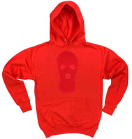 "Red ""Ski Mask Way"" Hoodies"