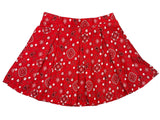 Red Paisley Lyfestyle Tennis Skirt