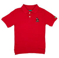 Kids Red Fleeroy Lyfestyle Polo Shirt