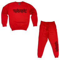 Red w/ Black Lyfestyle Sweatsuit