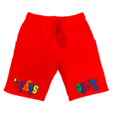 Multicolor Lyfe&style Shorts