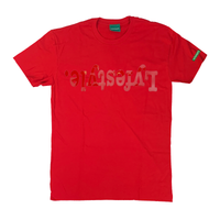 Red Metallic Lyfestyle Tees