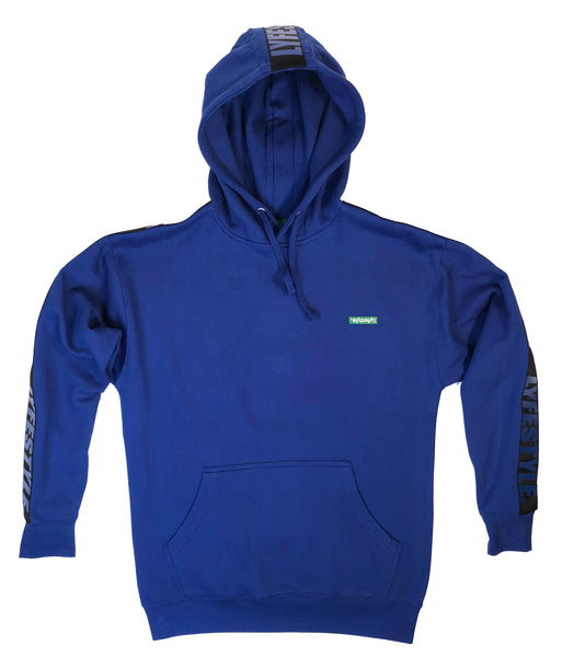 Royal Blue & Black Lyfestyle Tape Hoody