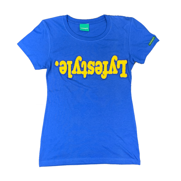 Women's Yellow w/ Blue Lyfestyle Tees