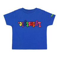 Toddlers Royal Blue Starburst Lyfestyle Tee