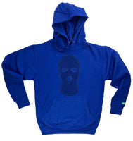 "Royal Blue ""Ski Mask Way"" Hoodies"