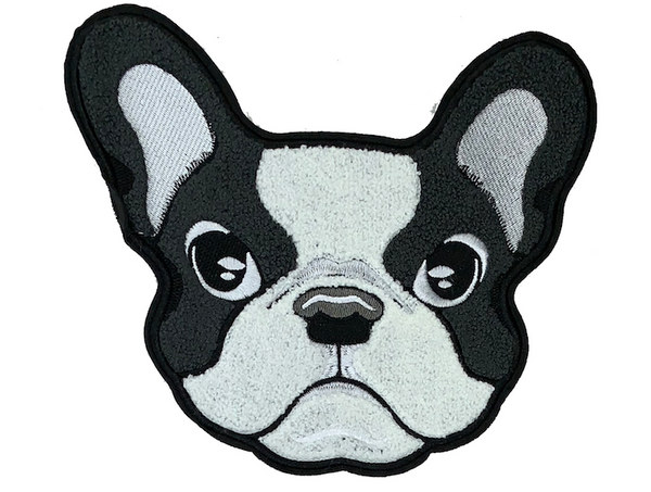 French Bull Dog Patch