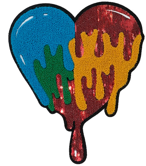 Dripping Heart Patch