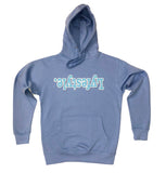 Sky Blue w/ White Lyfestyle Hoodies