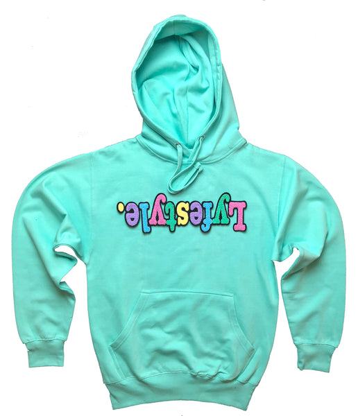 Turbo Green Lyfestyle Hoodies