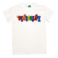White Multicolor Lyfestyle Tee