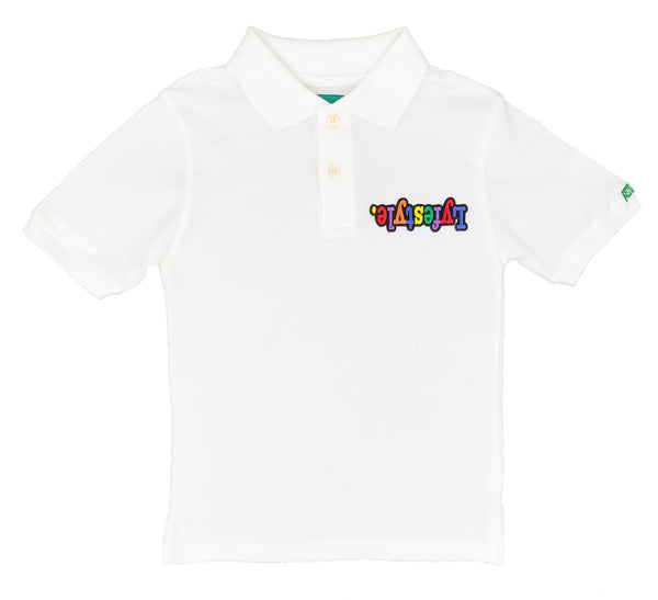 Kids Mini Multicolor Lyfestyle Polo Shirt