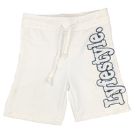 Kids White w/ Black Lyfestyle Shorts