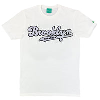 White w/ Black Brooklyn Lyfestyle Tee