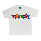 Kids White Multicolor Lyfestyle Tee