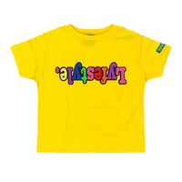 Toddlers Yellow Starburst Lyfestyle Tee