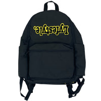 Yellow & Black Lyfestyle Tape Bookbag
