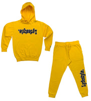 Yellow Lyfestyle Sweatsuits