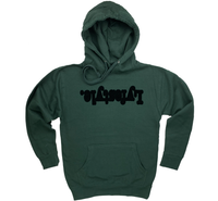 Forest Green Lyfestyle Hoodies
