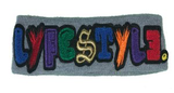 """Mixed-Up"" Multicolor Lyfestyle Headband"