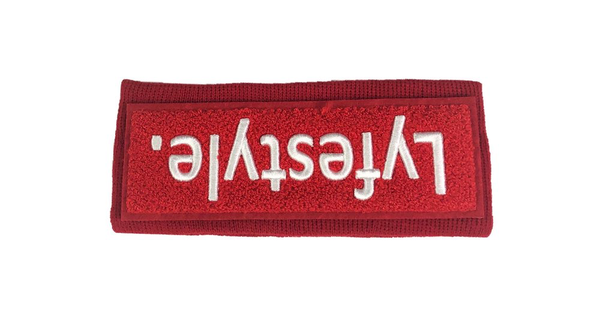 Red Box Headband